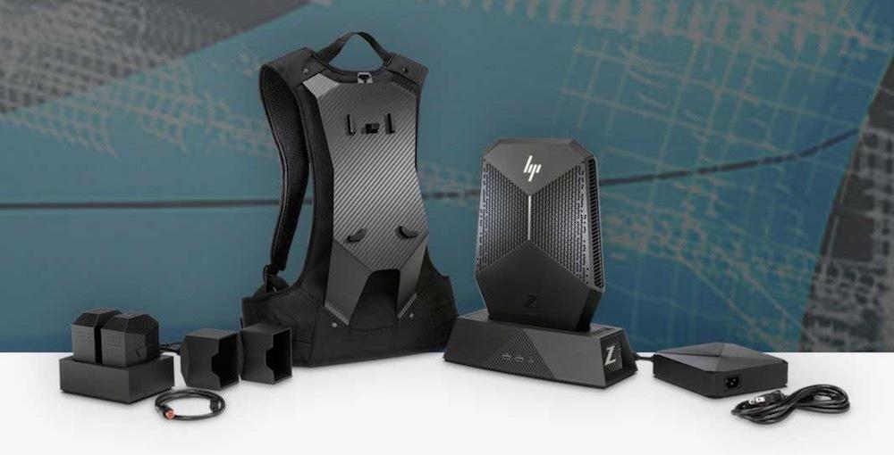 hp z workstation vr backpack