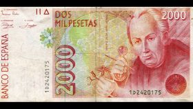 La efigie de Celestino Mutis en los billetes de 2.000.
