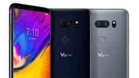 LG V35 ThinQ: un nuevo gama alta con gran pantalla pero sin notch