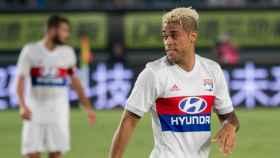 Mariano, en un partido con el Lyon. Foto: olweb.fr