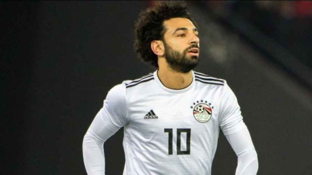 Mohamed Salah, extremo de Egipto. Foto: Twitter (@MoSalah)