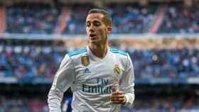 Lucas Vázquez, en un partido del Real Madrid. Foto: Pedro Rodríguez/El Bernabéu