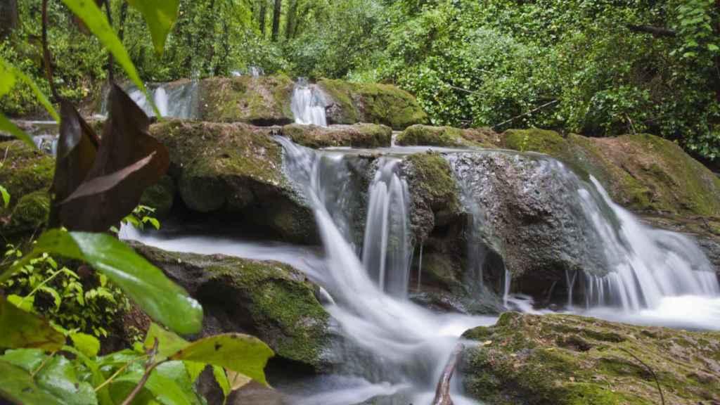 La zona de los Baños de Popea, lugar en el que desapareció el menor.