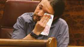 Las lágrimas de Pablo Iglesias en el Congreso se convierten en meme