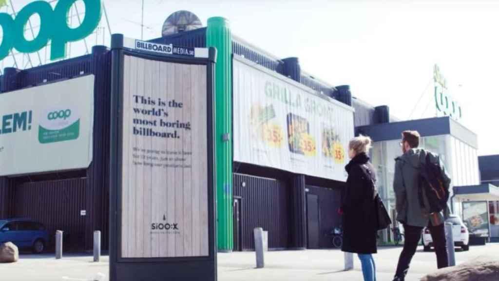 Imagen de la campaña publicitaria.