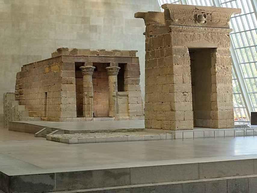 El Templo de Dendur, en el MET.