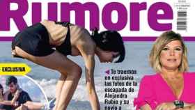 Portada de la revista Rumore con Alejandra Rubio.
