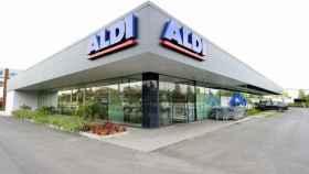 Un supermercado de Aldi, en una imagen de archivo.