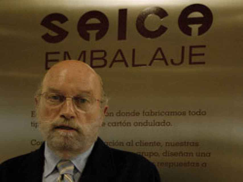 Eduardo Aragüés, expresidente de Saica.