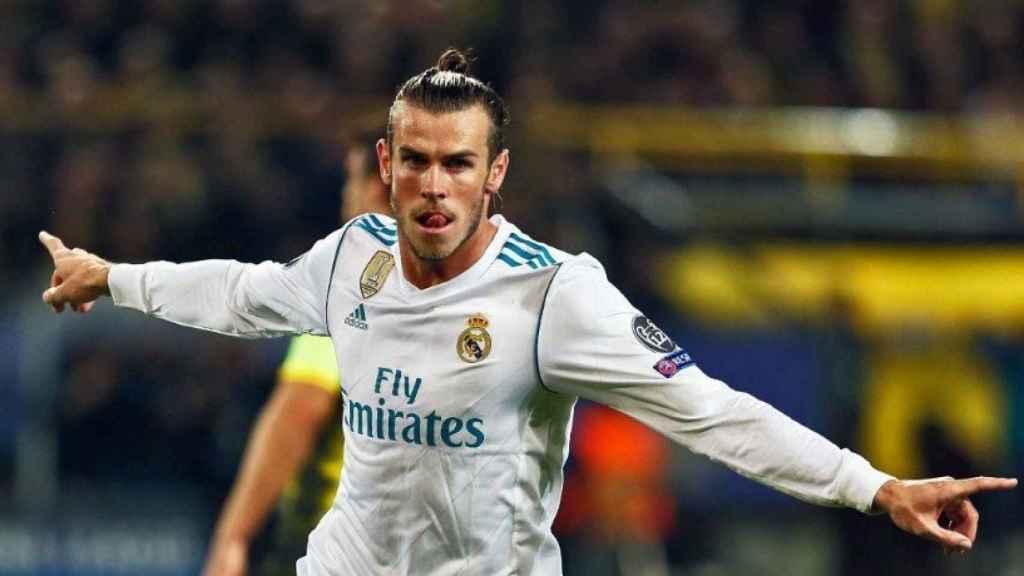 Gareth Bale, en Dortmund.