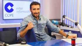 Juanma Castaño, periodista de COPE y nuevo rostro de #Vamos, el canal de Movistar+.
