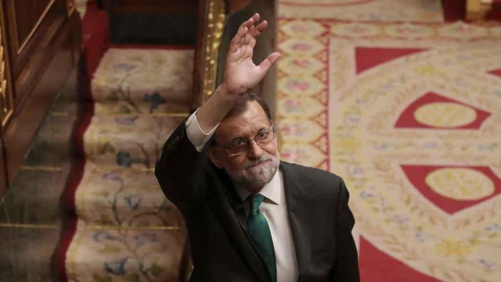 Mariano Rajoy se despide del Congreso de los Diputados