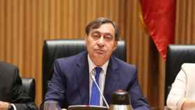 Sánchez Melgar, en una de sus comparecencias en el Congreso./