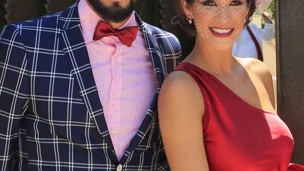 Tamara Gorro y Ezequiel Garay.