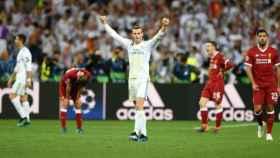 Bale celebra la Champions en Kiev. Foto Twitter (@GarethBale11)