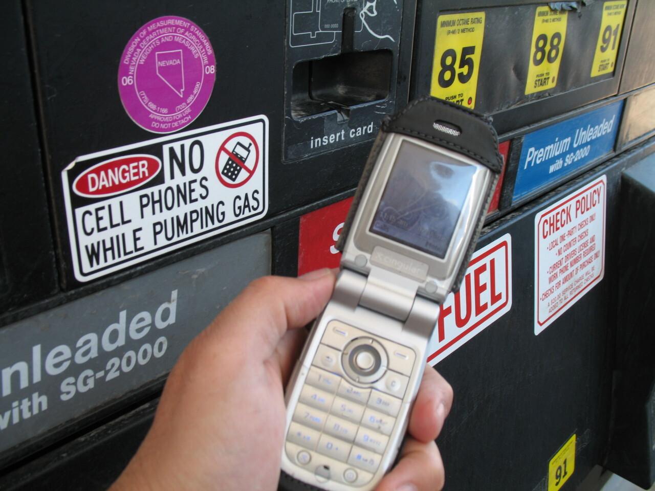 telefonos moviles gasolineras