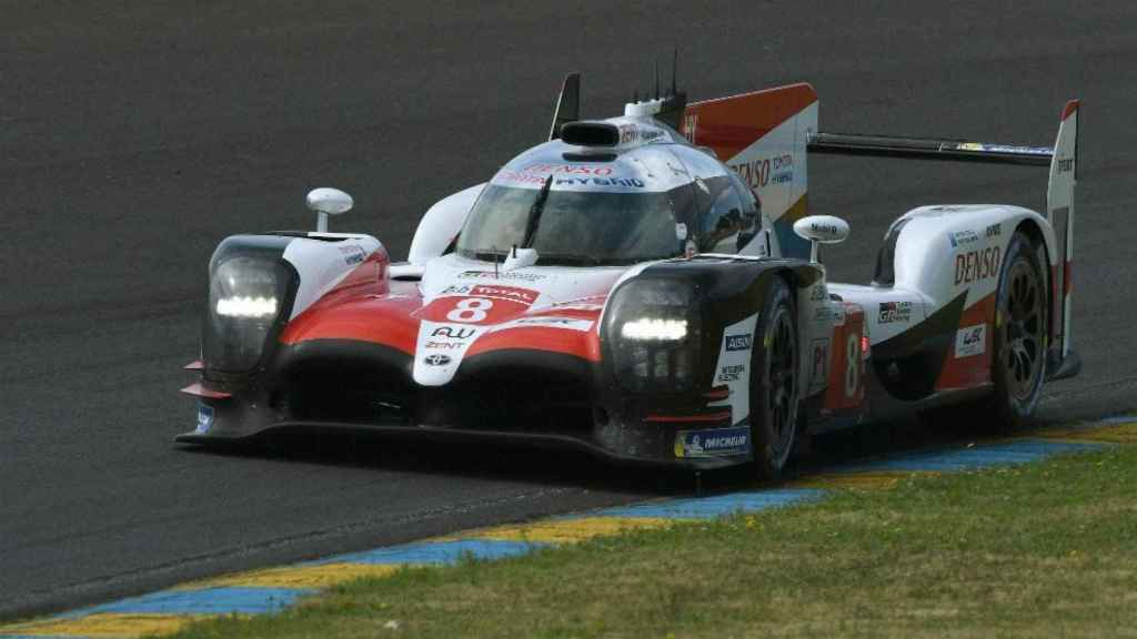 El Toyota número 8, con el que Alonso disputará las 24 Horas de Le Mans.