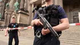La policía alemana ha acordonado el templo