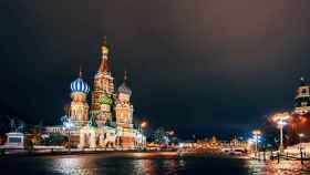 La Plaza Roja de Moscú.
