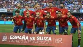 Alineación de España.