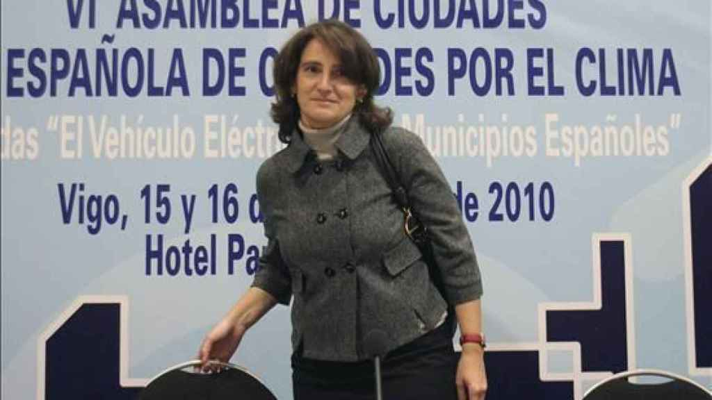 Teresa Ribera en una imagen de 2010