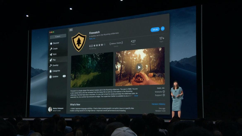 video previews apple app mac store macos mojave