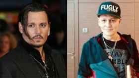 Johnny Depp en un fotomontaje de Jaleos.