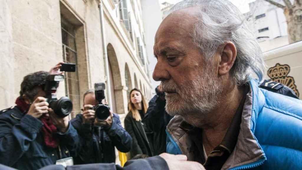 El empresario mallorquín Tolo Cursach en los juzgados de Palma