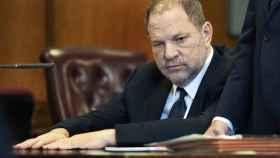 Harvey Weinstein en los tribunales de Nueva York.