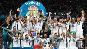 El Real Madrid es el actual campeón de la Champions League.