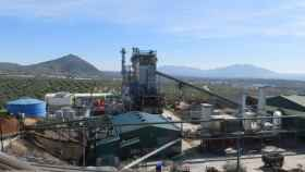 Vista de la empresa de aceites denunciada por no pagar a sus trabajadoras.