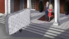 El colchón.