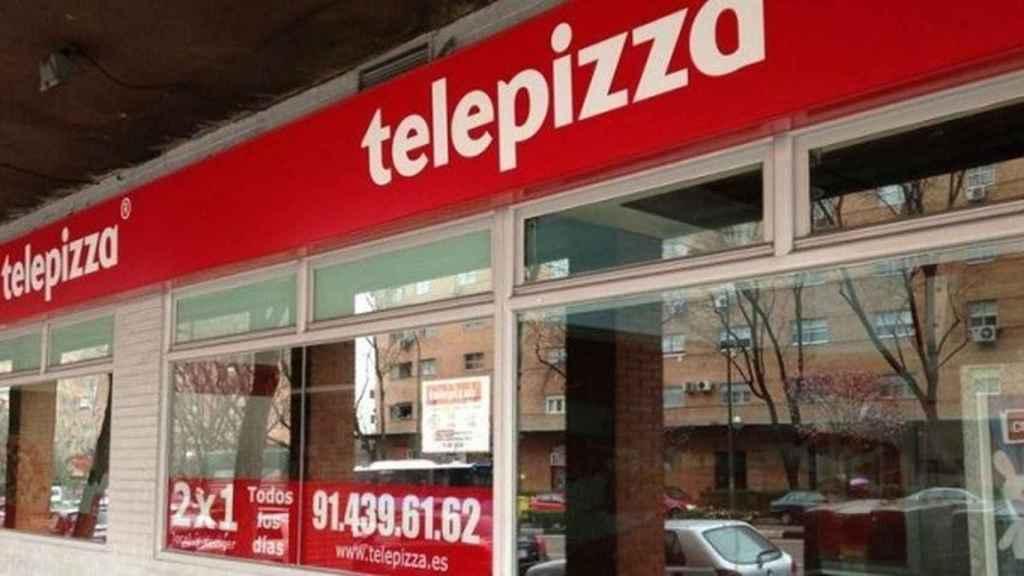 Un local de Telepizza, en una imagen de archivo.
