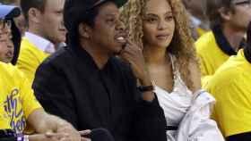 Beyoncé y Jay-Z en su última aparición en público.