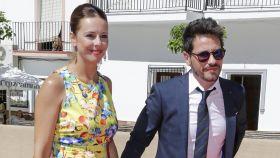 David DeMaría y Lola Escobedo en una imagen de archivo.