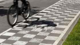 Imagen de un ciclista rodando.