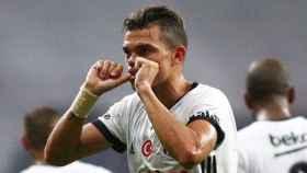 Pepe celebra un gol en el Besiktas. Foto. (@official_pepe)