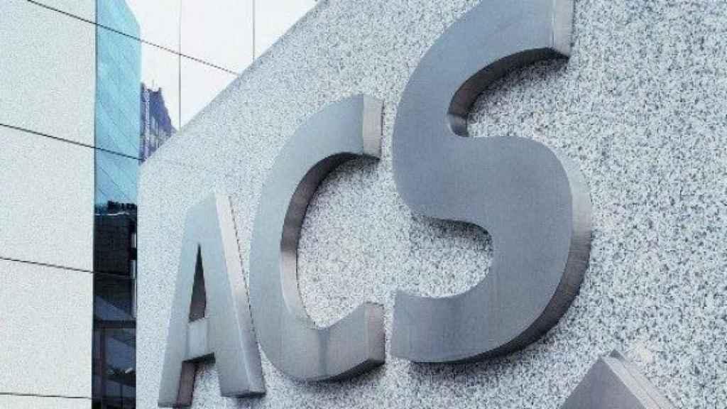 La sede de ACS, en una imagen de archivo.