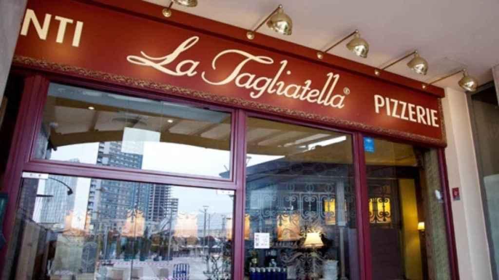 Un restaurante La Tagliatella, en una imagen de archivo.
