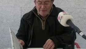 José Cavero en una de sus últimas entrevistas.
