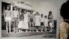 Imagen de la familia de Robert Kennedy, en su Fundación.