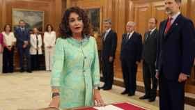 María Jesús Montero en la jura del cargo.