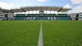 El estadio de Tallín donde se jugará la Supercopa de Europa 2018. Foto: Twitter (@UEFA).