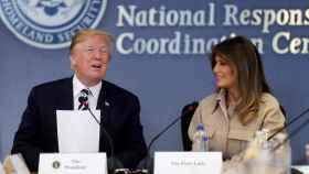 Trump y la primera dama en una imagen reciente