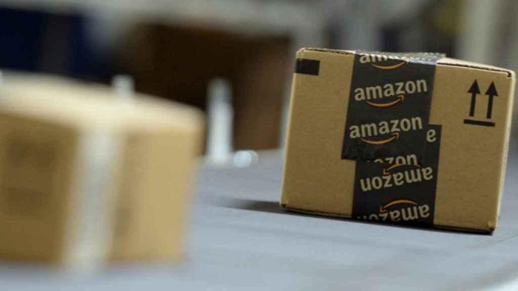 Paquetes de Amazon, en una imagen de archivo.