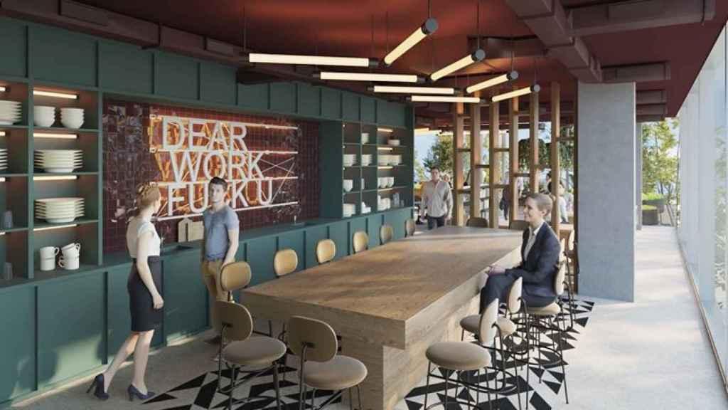 El 'coworking' y su gestión digital, parte de la transformación de la inmobiliaria Colonia.