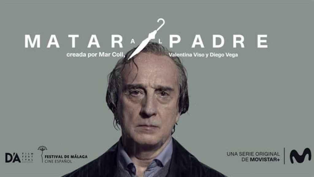 Cartel original de la serie de Movistar+ 'Matar al padre',protagonizada por Gonzalo de Castro.