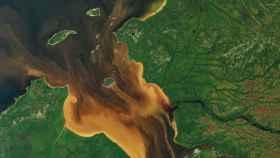 google earth agua espacio 2