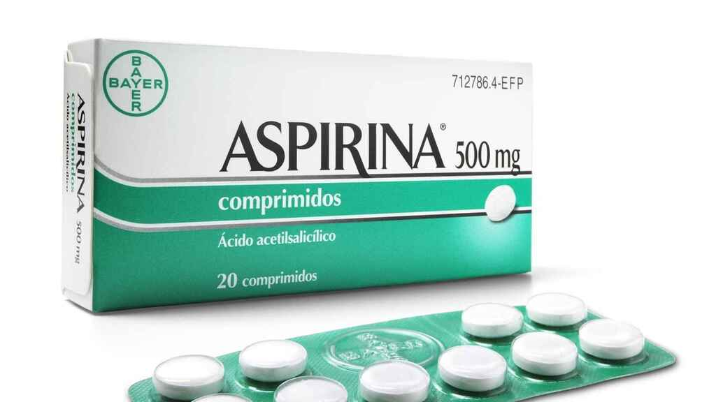 Una imagen de Aspirina