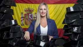 María del Carmen Pérez Moya, 30 años y el futuro de Manufacturas Moya, empresa que fabrica tricornios para la Guardia Civil desde 1912.